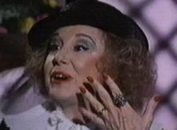 Mari Carrillo, caracterizada de La Duquesa de Alba