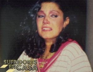 La que fuera pareja de Pepe el Marismeño, llorando a su primer marido