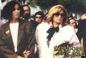 Carmen Romero y La Más Grande, de funerales