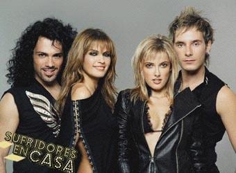 Pilar en el grupo Jaster, quienes podrían habernos representado en Eurovision 05