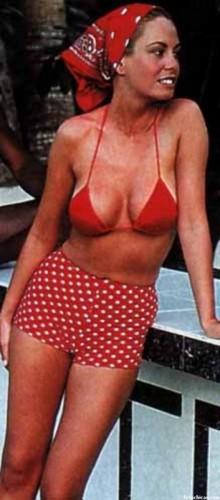 Lara Dibildos en una tarde de verano en la que su estilista estaba de vacaciones...