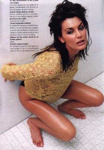 Las Top Model también tienen apretones...