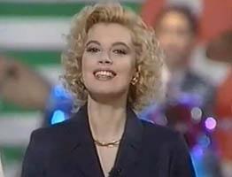 Teresa Lourdes Borrego, con su look 1993