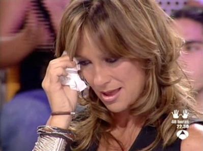 Patricia, emocionada al saber que puede ganar nuestro Apueste por Una. Hazla feliz y vótala.