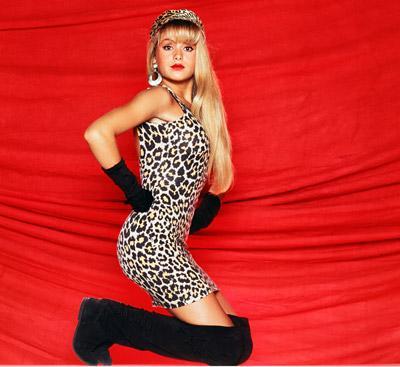 Con 16 añitos, Paulina eligió el leopardo como un estilo de vida