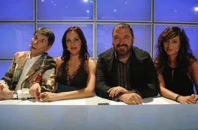 Junto a Ángel Pavlovsky, Natalia Millán y la coreógrafa Aída, ofrecían su veredicto en Empieza el Espectáculo