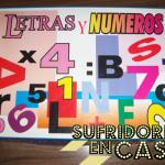 Grandes juegos de mesa de imitación: Letras y Números