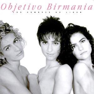 Junto a Marisa Pino y Mónica Gabriel y Galán en el último trabajo de Objetivo Birmania. Esta no la tengo en vinilo, pero sí en casette original.
