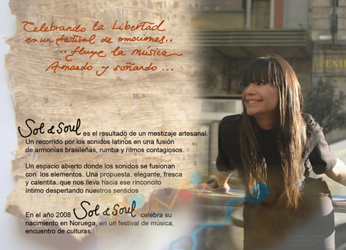 Sol en la actualidad y su grupo Sol & Soul