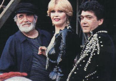 Chanquete hizo el casting para entrar al culebrón Cristo Rey como padre de Bárbara
