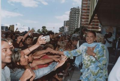 Aunque parezca más dificil de imaginar que Caritina en Naturhouse, Carmen Flores también tiene fans