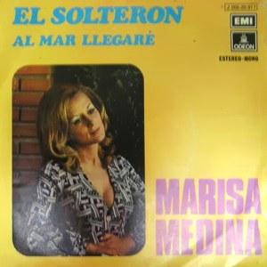"""Marisa también grabó discos de canción protesta como éste """"El Solterón"""""""