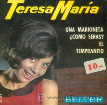 Teresa María, sonriendo mientras ardía el archivo eurovisivo
