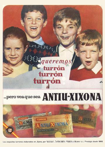 Pinitos publicitarios de Caritina y sus amigos