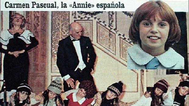 Oda a Carmen Pascual, la Annie española