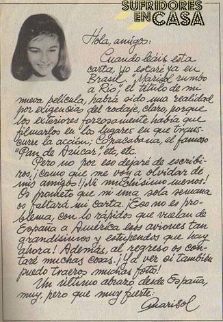 """Marisol firmó la carta, y Ana Rosa """"Sabor a hiel"""""""