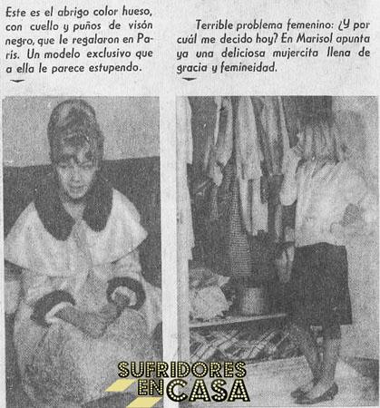 """Ojalá elegir un modelito hubiese sido el más """"terrible problema femenino"""" al que se enfrentó Marisol en su vida"""