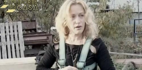 Encarni Manfredi, dispuesta para saltar en FBI, años antes del suceso del perro