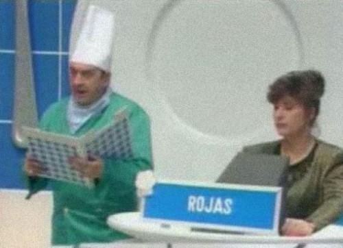 Juanito Navarro, entre cocinero y ATS