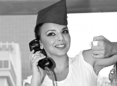 """""""¡Hola! ¿Está Marta Sánchez? Es que había pensado que podríamos grabar Soldados del Amor y quería enseñarle mi estilismo"""""""