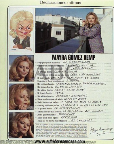 Mayra habría votado por Elton John en el Apueste por una contra Madonna