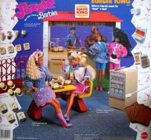 A Barbie le encanta vomitar las hamburguesas de Burger King para mantener su tipo