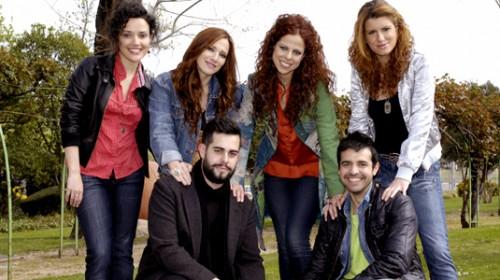 Europili y sus coros. Antonio Tomás es el chico de la izquierda