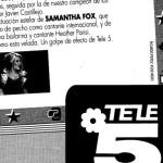 Apueste por una: Sabrina vs Samantha Fox
