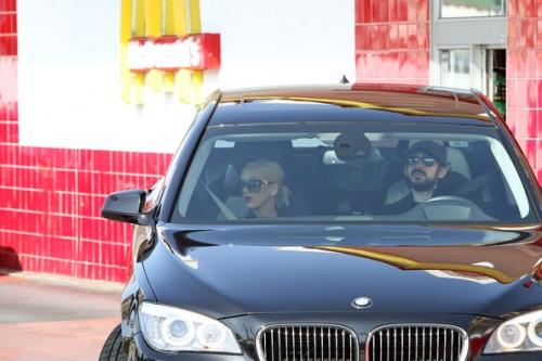 Christina Aguilera... un McDonalds... pues eso