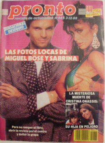 Miguel peinó a Sabrina