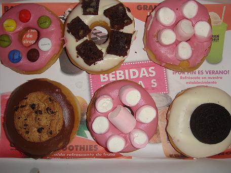 Customiza tus donuts y lávate con un trapo atado a un palo