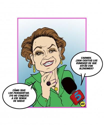 A faltas de declaraciones de la propia Carmen, ella diría algo así