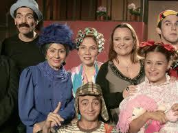 Actores random caracterizados del elenco original