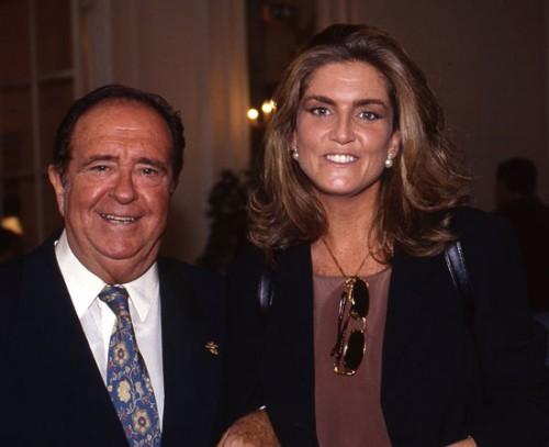 Padre y hija, unidos por su pasión por el mundo televisivo.