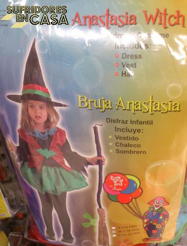Chiqui de Gran Hermano se disfrazará de Bruja Anastasia