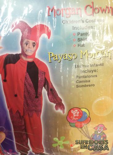 Morgan Clown, un disfraz súper popular en Gibraltar