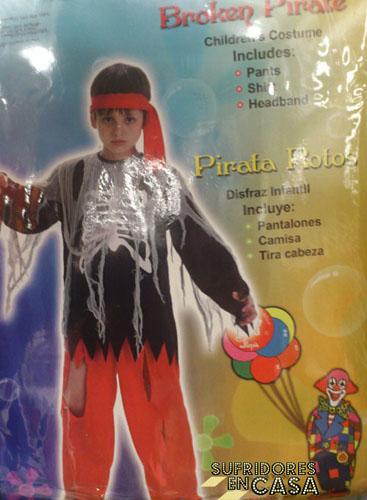 Pirata Rotos, Infancias Rotas