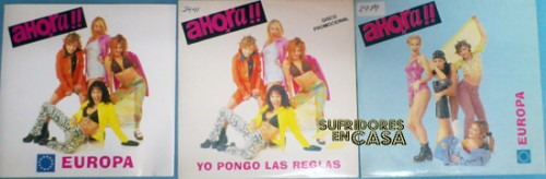 Posiblemente, la discografía completa de las Ahora!!