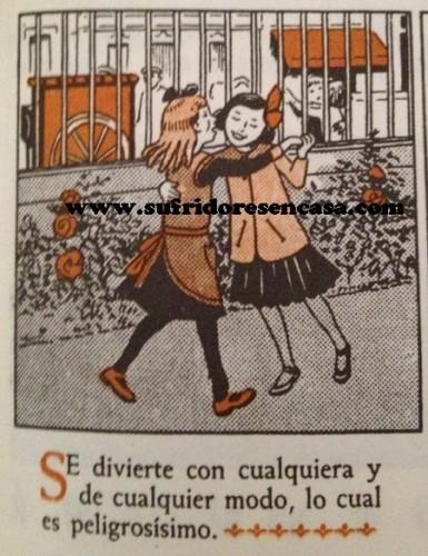 Las niñas Isabel y Encarna