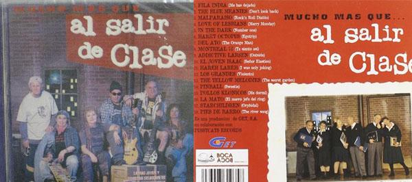 Cuenta la leyenda que utilizaron a señores mayores para la imagen del disco para que así Carmen Morales pareciese más joven en la serie