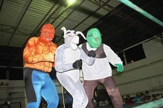 Luchadores low cost de Falomir Juegos