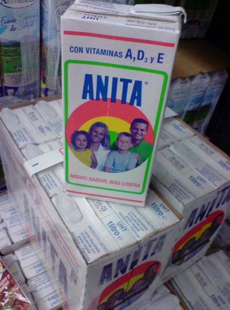 La leche favorita de la Obregón