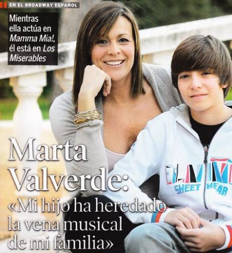Marta y su hijo Blas