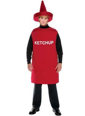 Deja la dignidad a un lado y disfrázate de ketchup como el rubio de Los Pecos