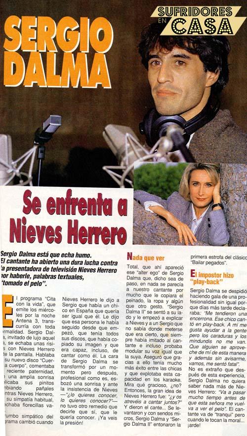 Sergio Dalma Nieves Herrero