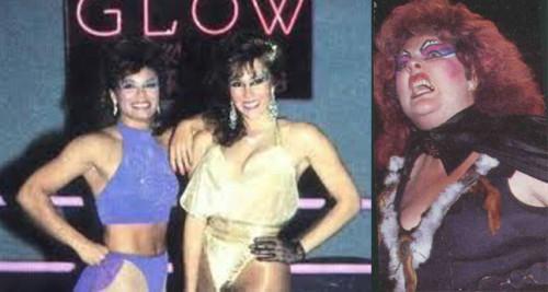 Tina Ferrari, Ashley y Matilda en sus tiempos de luchadoras