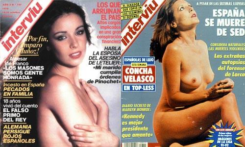 Señoras que fueron portada de Interviú pero no Chicas Almodóvar