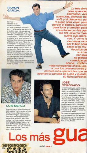 Los Más Guapos de la Tele 1995