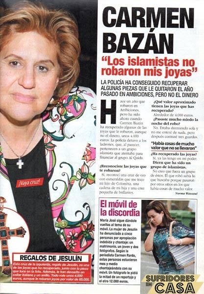 Carmen Bazan 2006