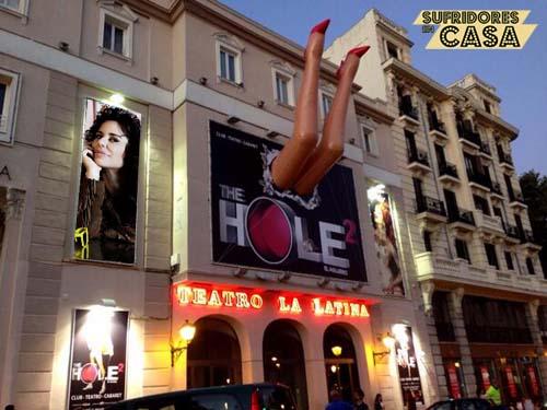 Dramatización de Vicky Larraz en The Hole 2